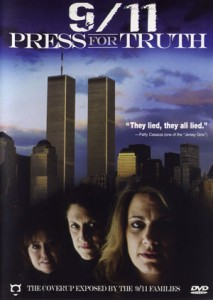 9/11 Press for Truth DVD cover image