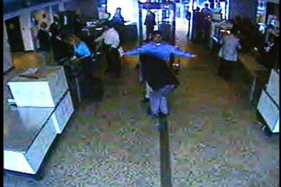 9/11 hijacker receiving additional security screening at airport