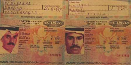 Photo of al-Mihdar and al-Hazmi Visas