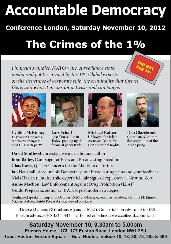 Accountable Democracy Conference Flyer