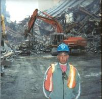 John Feal at Ground Zero days before his injury