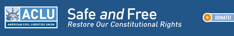 Image of ACLU banner