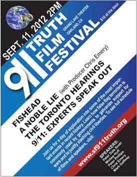 Poster for 9/11 Truth Film Festival