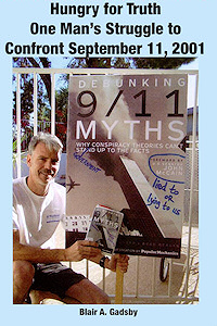 Image of Blair Gadsby on cover of One Man's Struggle to Confront September 11, 2001