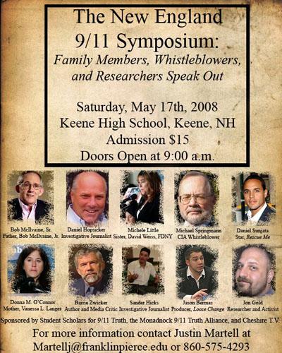 New England 9/11 Symposium banner