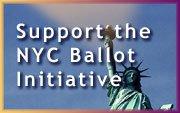 NYC Ballot Initiative