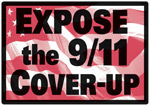 Expose the 9/11 Cover-Up sign