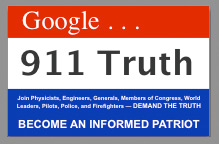Google 9/11 Truth poster