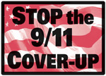 Stop the 9/11 Cover-Up sign