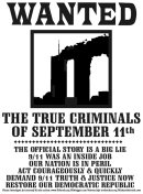 9/11 Wanted Poster