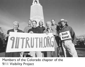 Photo of Members of the Colorado Chapter of the 9/11 Visibility Project