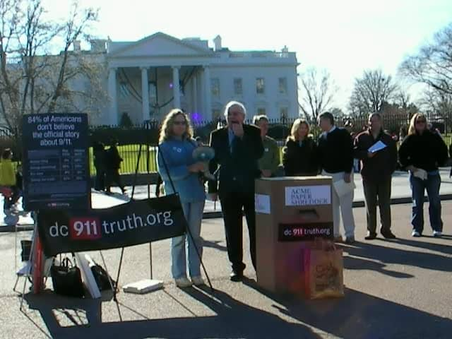 DC 911Truth.Org Tea Party in front of White House