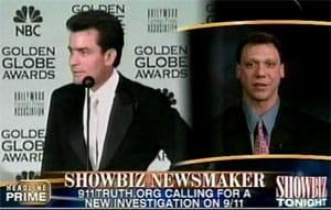 Screenshot from appearance on Showbiz TONIGHT