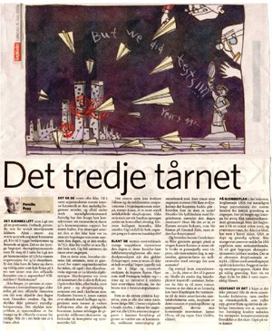 Dagbladet Third Tower article