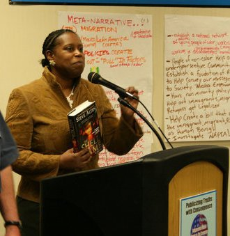 Photo of Cynthia McKinney