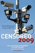 Cover image of Censored 2009