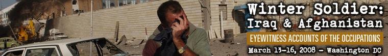 Winter Soldier: Iraq & Afghanistan