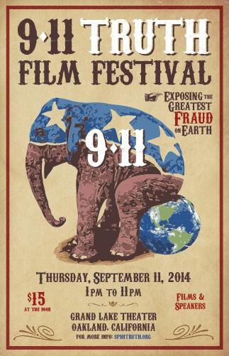 Poster for the 2014  9-11 film festival