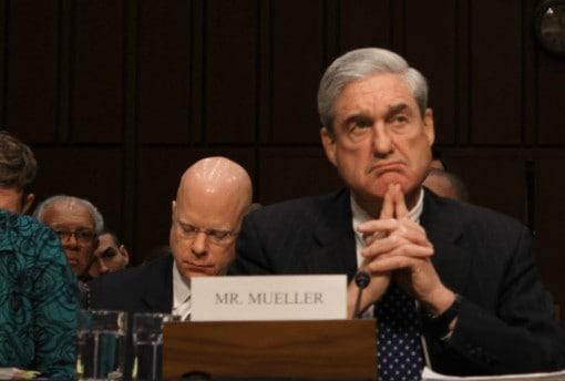 Robert Mueller in Senate giving testimony