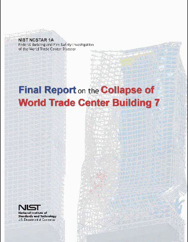 Cover image of the NIST Final Report - WTC 7