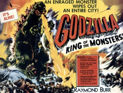 Poster from old-time GODZILLA Movie