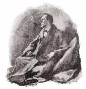 Image of Sherlock Holmes etching
