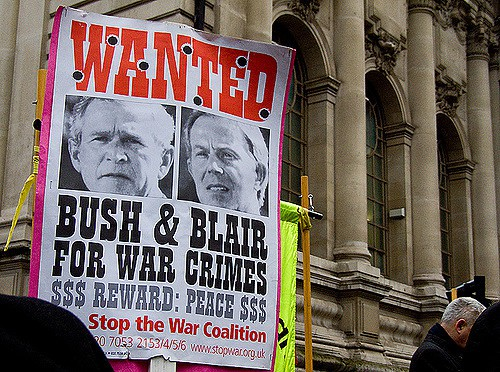 Bush and Blair found guilty of war crimes for Iraq attack