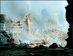 Photo of 9/11 Aftermath photo by Charles Petersheim