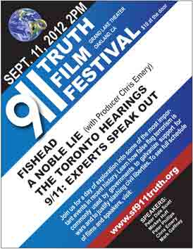 Poster for the 9-11 truth film festival