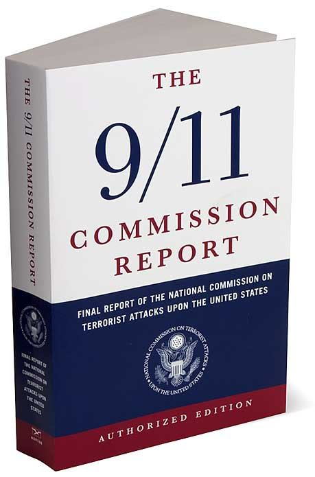 Image of the cover of 9/11 Commission Report