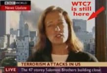 BBC reporter Jane Standley Announces the collapse of WTC 7 or The Salomon Brother's Building BEFORE it fell LIVE from Lower Manhattan