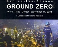 Black Box Book-Behind the Scenes: Ground Zero, the cover shows rescue / recovery workers on the pile