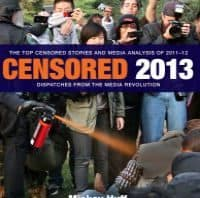 Cover image of Projected Censored Top Censored Stories from 2013