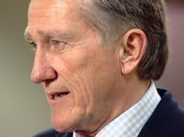 Former Republican member of the 9/11 commission John Lehman