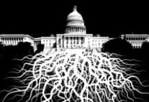 Deep State tentacles crawling out of the Capitol