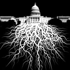 Government Deep State tentacles crawling out of the Capitol