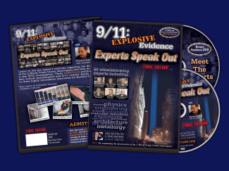 The DVD from ae911truth.org: 9/11 Experts Speak Out: Explosive Evidence
