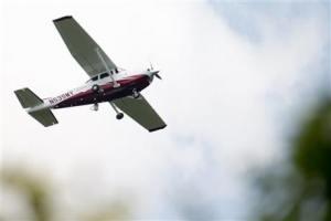 Photo of FBI surveillance plane
