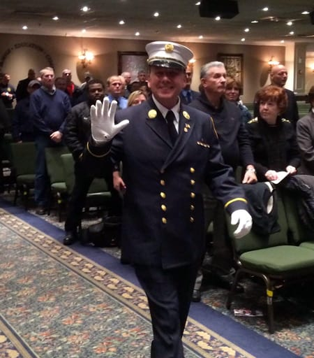 Photo of FDNY Deputy Chief Tom Riley