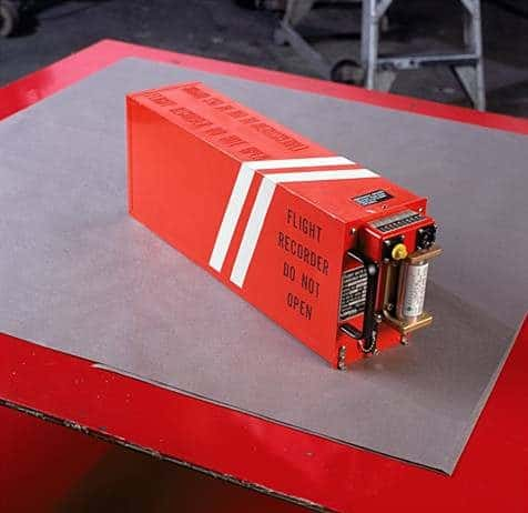 Photo of a Flight Recorder or black box