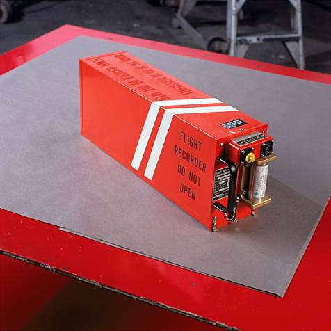 Photo of a Flight Recorders or missing black boxes would look like