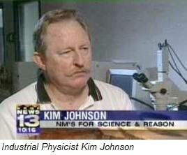 Industrial physicist Kim Johnson