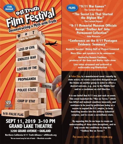 9-11 Truth Film Festival: Deconstructing a Myth with Truth