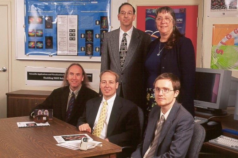 Old NIST Photo of Peter Ketcham