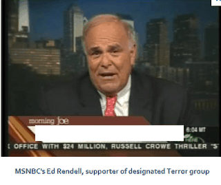 MSNBC's Former Governor Ed Rendell, supporter of designated Terror group