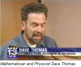 Mathematician and physicist Dave Thomas