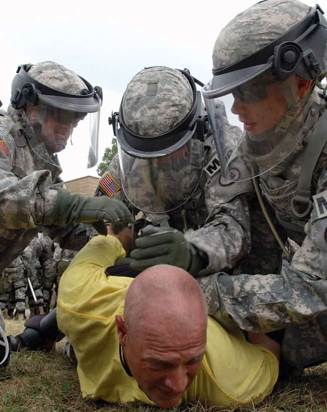 Image of Training for Military custody of an American citizen