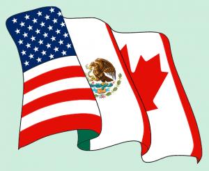 Image of NAFTA logo flag