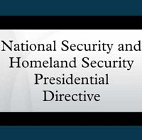 Natioanl Security Directive
