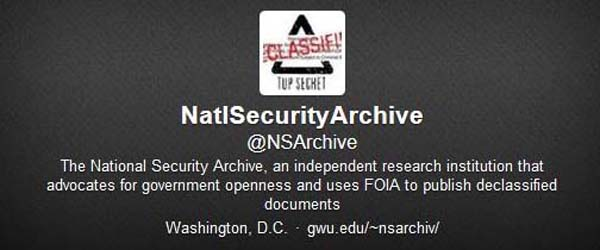 Information about the National Security Archive